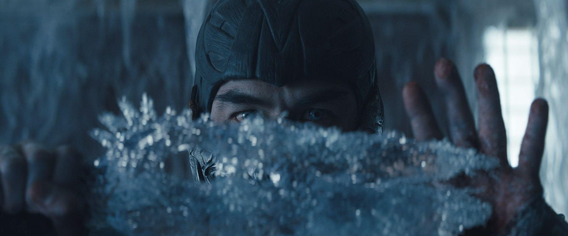 Joe Taslim as Sub-Zero in Mortal Kombat (2021)